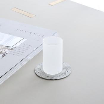シンプルながらデザイン性の高いプロダクトを展開する日本のブランド「AJOY(アヨイ)」のグラス。試験管で使われる耐熱ガラスを使用しているから品質は折り紙付き。