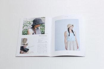 Patterns NoteのKN07号、KN10号は、それぞれバッグや帽子がバランスよく掲載されたミニブックです。写真の雰囲気も良いのでぜひ見てみてくださいね。