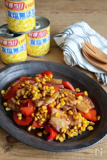 ピリ辛の照り焼き味はお子さんも大好きな味。いろんな野菜と合わせて季節ごとにアレンジを楽しめます。