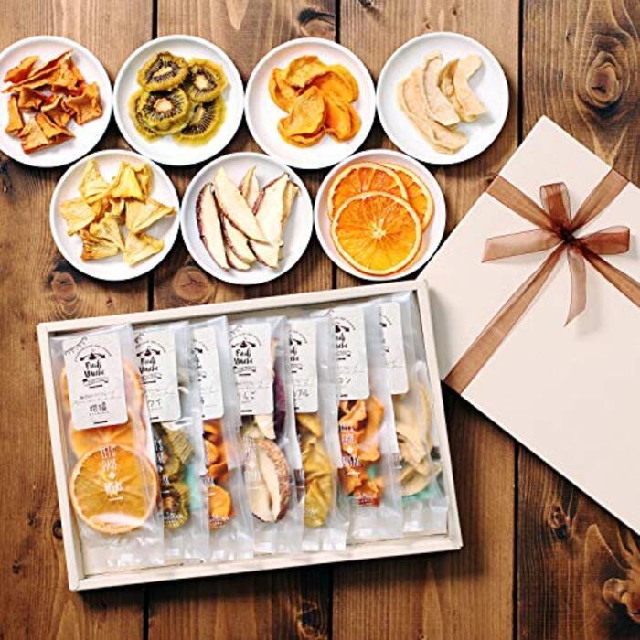 山下屋荘介 ドライフルーツ 7種のギフトセット( 砂糖不使用 / 無添加 )