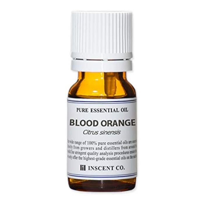 ブラッドオレンジ 10ml インセント エッセンシャルオイル 精油 アロマオイル