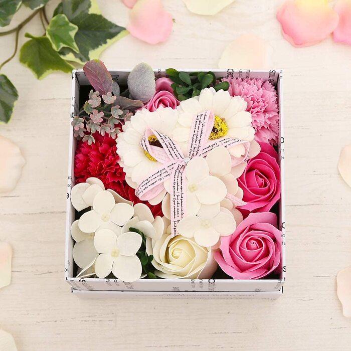 花のカタチの入浴剤 バスフレグランス