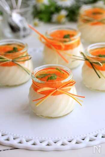 15分でできるのになんだか豪華に見えるデザート。マスカルポーネチーズが入った、ちょっぴり贅沢な味です。