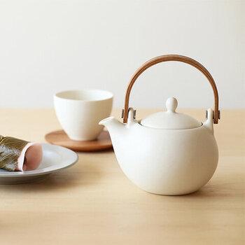 素敵な急須でいただく、贅沢なお茶の時間