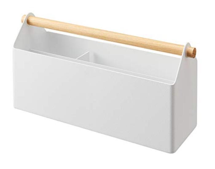 山崎実業 収納ボックス ホワイト