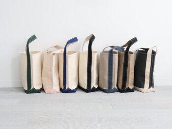 サイズやカラー展開も豊富だから、お気に入りのデザインを探しましょう。専用バッグとして使う他、毎日使いにしてももちろんOKなデザインです。