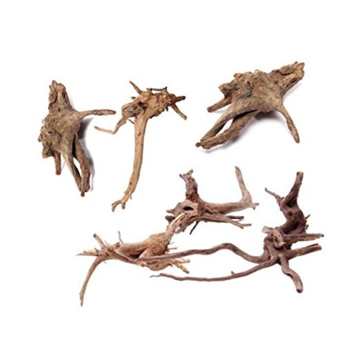 6個入り 自然流木 水族館シンクエイブル流木水槽の装飾 (小 10-15cm)