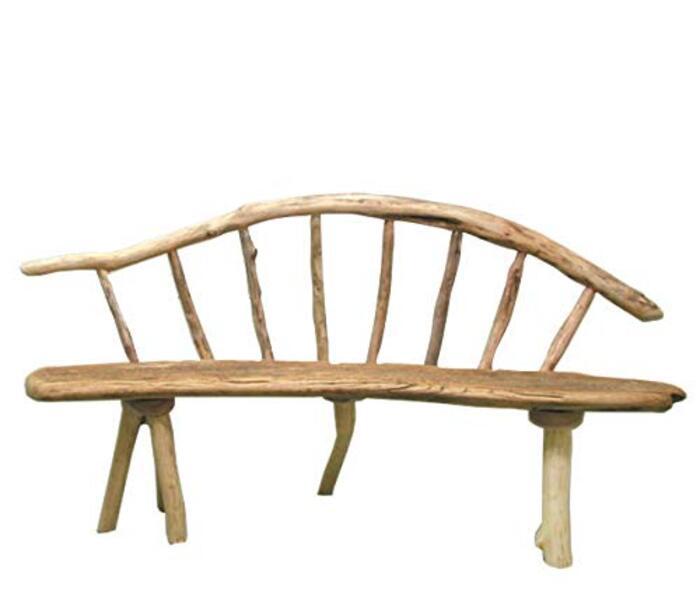 大型流木ベンチ ka108 流木インテリア ガーデン家具