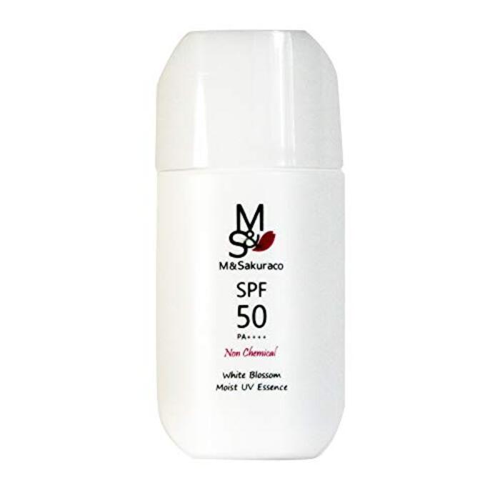 ノンケミカル 日焼け止め 美容液 SPF50 PA++++ モイスト UV エッセンス 敏感肌 化粧下地