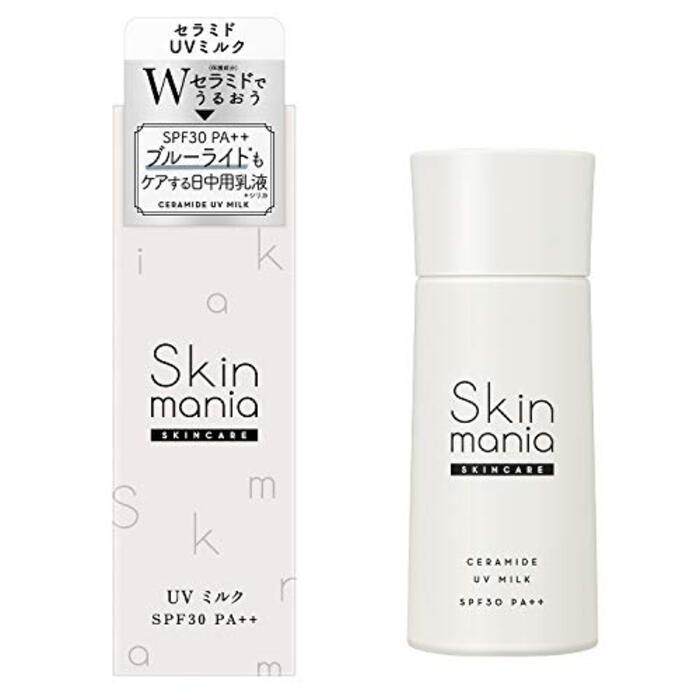 ロゼット Skin mania セラミド UVミルク 日焼け止め 35g
