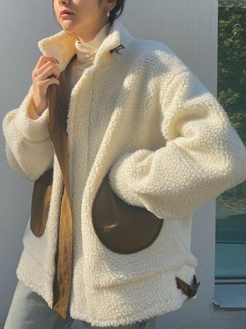 秋冬のトレンドアイテム「ボアジャケット」のコーデ&人気ブランドをご紹介しましたが、いかがでしたか?一口にボアジャケットと言っても色やデザインによっても与える印象は様々。よりご自分に合うとっておきのボアジャケットを見つけてみませんか?