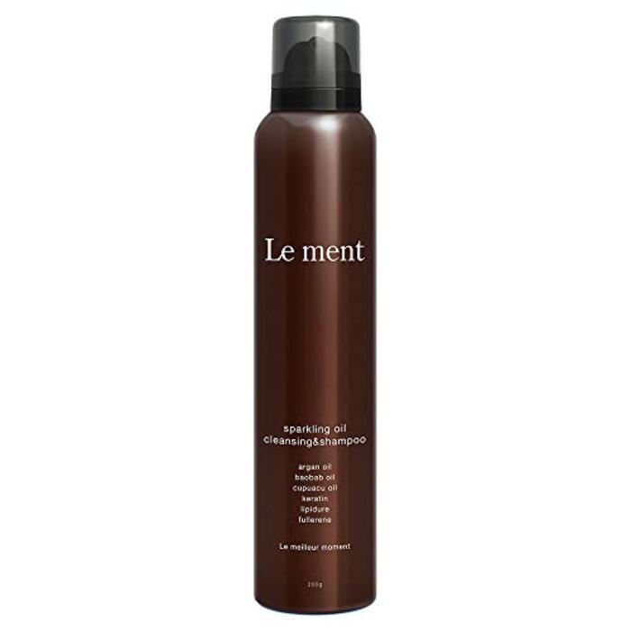 Le ment (ルメント) 高濃度炭酸シャンプー 200g ホワイトブーケの香り