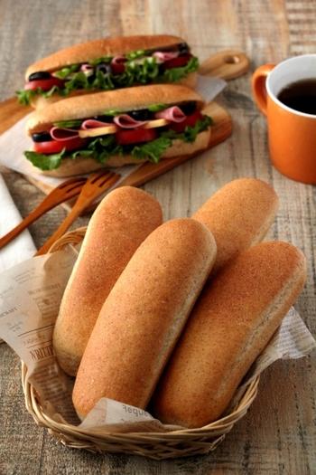 気分はコッペパン屋さん♪おうちで楽しむ簡単具材レシピのアイデア帖