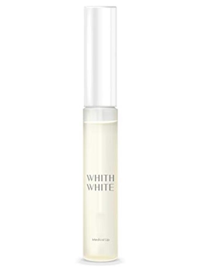 「 医薬部外品 」フィス ホワイト 口紅 の 上から塗れる 透明 リップグロス