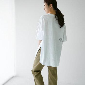 今年は早めにゲット!今から大活躍の「オーバーサイズTシャツ」特集
