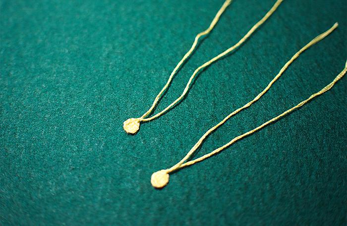 1時間で簡単おしゃれ♪刺繍糸とパーツで作るイヤリング&ピアス