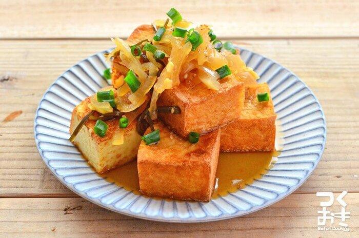 ヘルシーでコスパも◎「豆腐&厚揚げ」を使ったレシピ