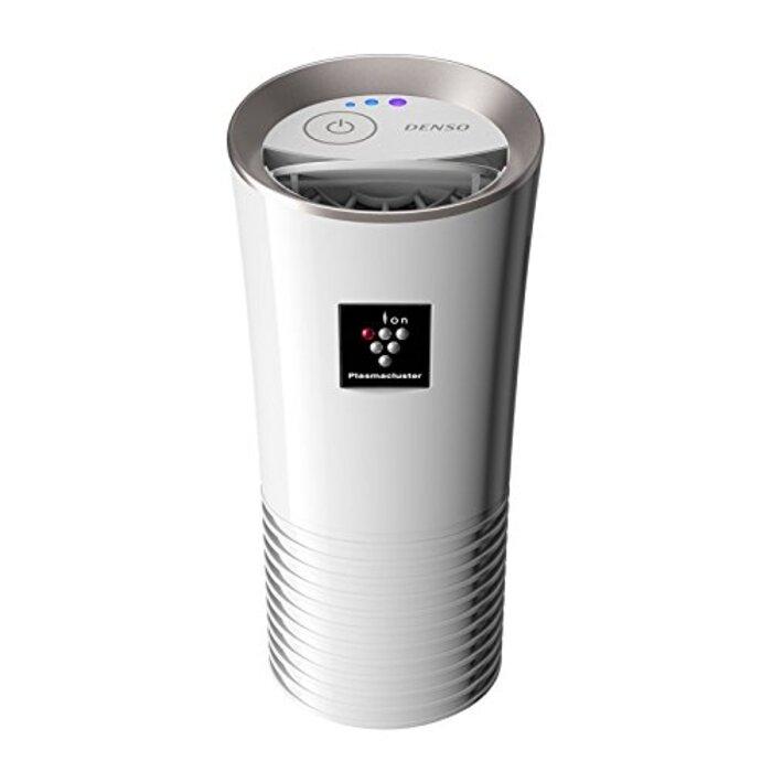 デンソー 車載用空気清浄機 プラズマクラスターイオン発生機 カップタイプ ホワイト