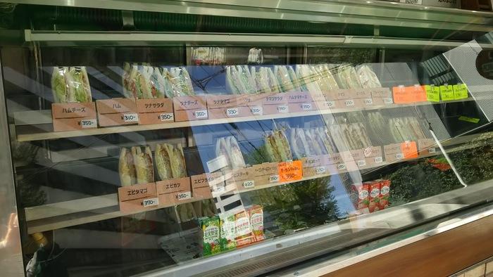 他にも、「サンドイッチと言ったらこれだよね!」という定番メニューがずらり。ひとつひとつ丁寧に手作りされたサンドイッチですが、いずれもコンビニと同じくらいの値段で食べられるのがうれしいポイント。体にもお財布にもやさしく、リーズナブルにサンドイッチを楽しめるお店です。