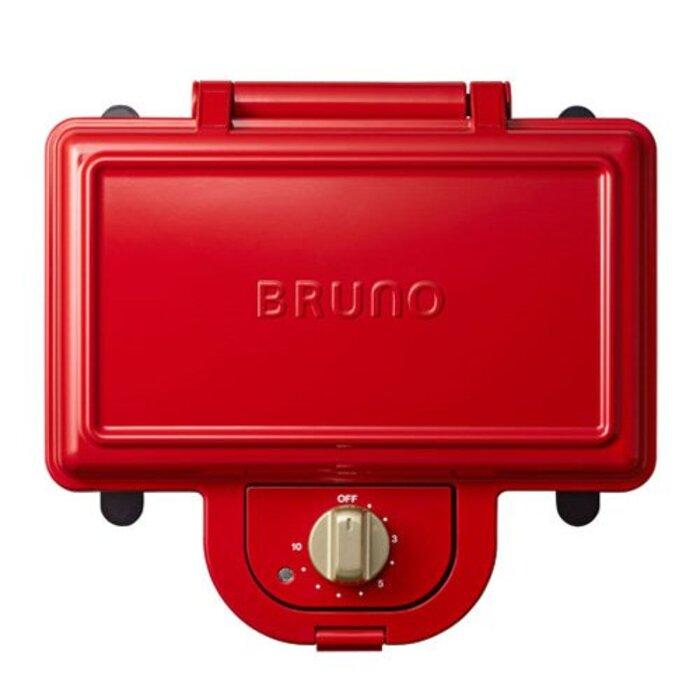 ブルーノ ホットサンドメーカー 耳まで焼ける 電気 ダブル