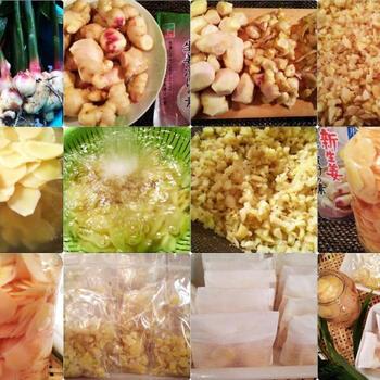 気軽にできる季節の手仕事に「新生姜」の保存食&レシピ