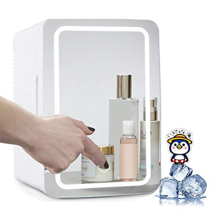 HANSHUMY 8L化粧品冷蔵庫 -2℃~65℃