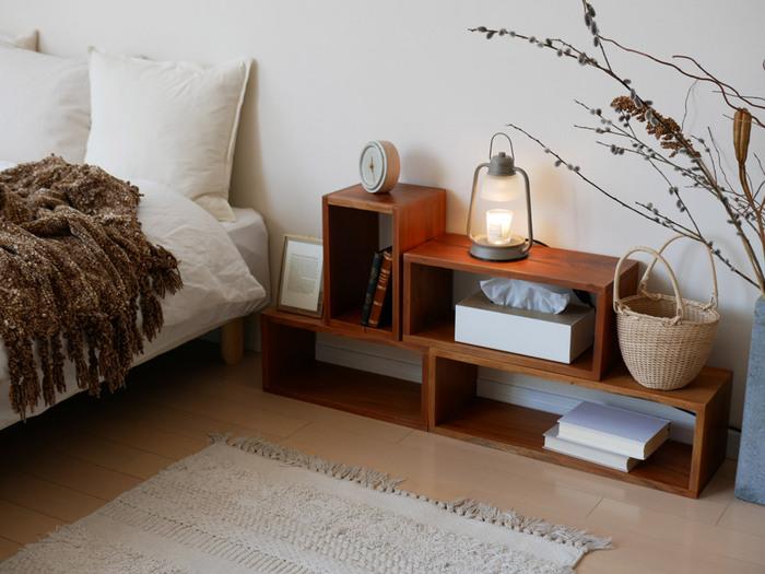 お部屋の空間や用途に合わせて自由な組み合わせができるのがいいですよね。