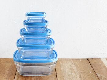 フランス発の老舗グラスメーカー「DURALEX(デュラレックス)」の保存容器です。シンプルなガラス製ですが、素材には強化ガラスを採用。割れにくく丈夫なのが最大の魅力です。