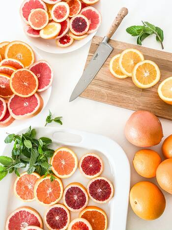 さっぱり甘い♪きらきら「グレープフルーツ」のスイーツレシピ