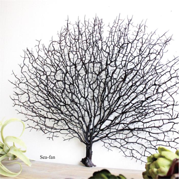 ウミウチワ/コーラル 造花