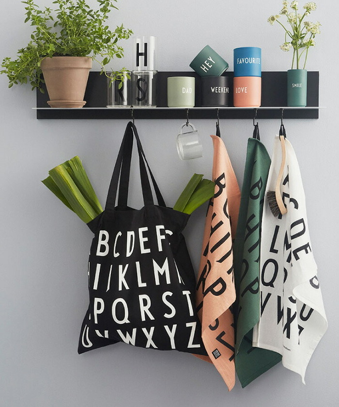 DESIGN LETTERS(デザインレターズ) TOTE BAG