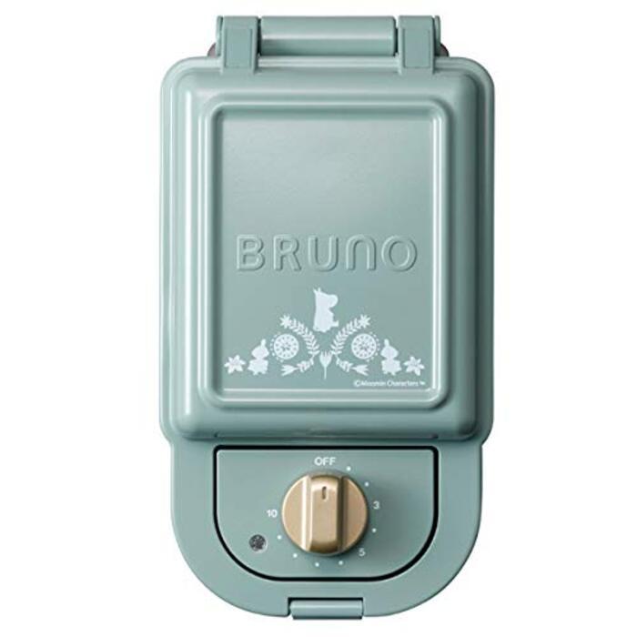ブルーノ ホットサンドメーカー 耳まで焼ける 電気 ムーミン シングル