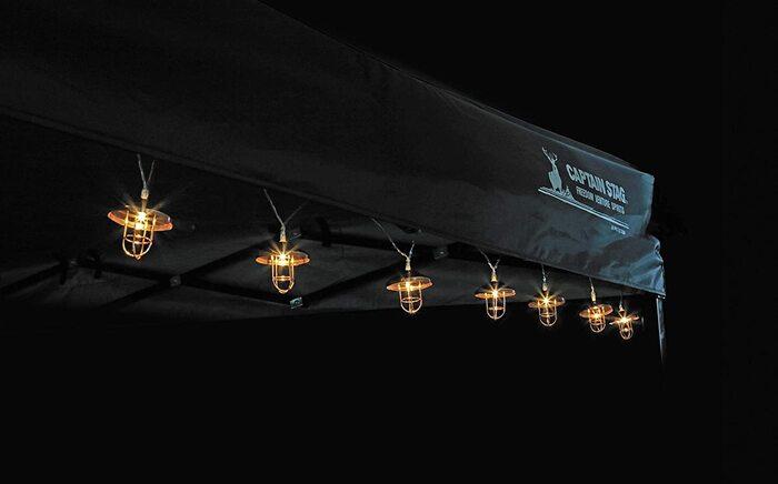 キャプテンスタッグ(CAPTAIN STAG) LEDデコレーションライト 10灯