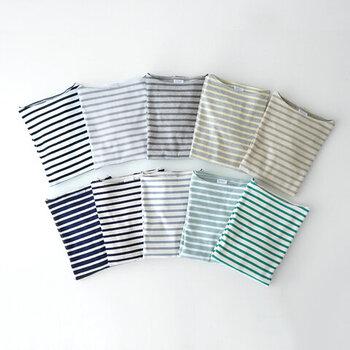 カラーバリエーションが豊富な定番「ORCIVAL(オーシバル)」のコットンバスクシャツ。しっかりとした生地なので、何度お洗濯しても張りがある生地感のまま、気持ちよく着ることができます!