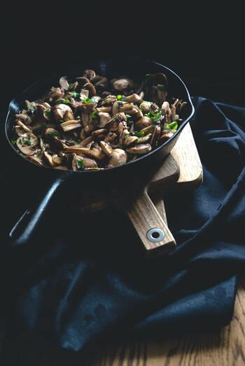 ヘルシーで美味しい食材。主菜からご飯ものまで、色々「きのこ」のレシピ