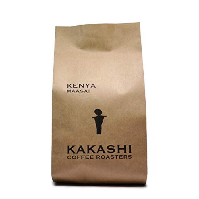 自家焙煎カカシコーヒー『ケニア マサイAA』《受注後焙煎 深煎り》