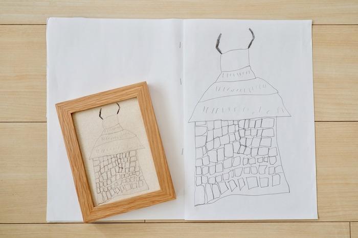素敵に飾って、形に残そう♪「子供の絵」の飾り方&活用アイデア