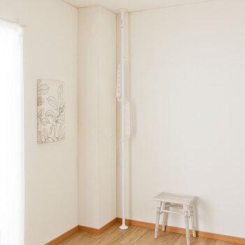 使用しないときや来客時などは、部屋の隅に移動させてアーム部分も畳んで収納することが可能です。