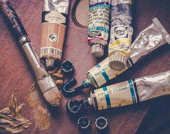 空き缶や瓶をヴィンテージ風に!エイジング塗装で小物づくり