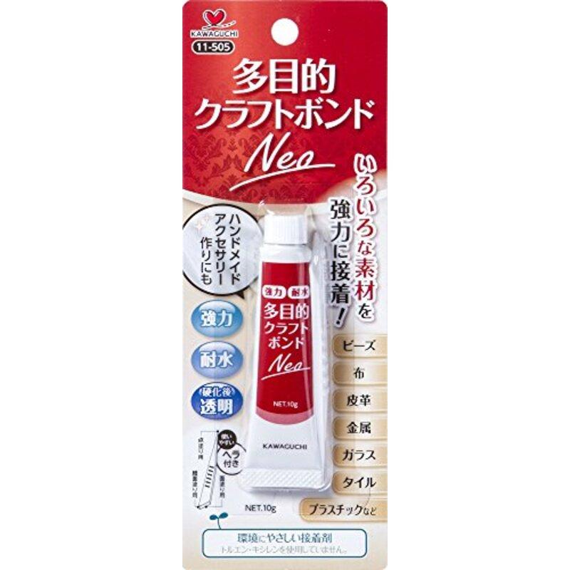 KAWAGUCHI 手芸用ボンド 多目的クラフトボンド Neo 10g 11-505