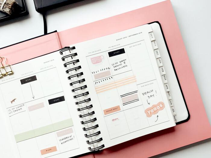世界に一冊。レシピやアイデア…素敵なノートを作るコツ