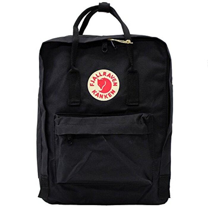FJALLRAVEN/フェールラーベン カンケンバッグ FJ 23510 リュックサック/バックパック/デイバッグ/ハンドバッグ/カバン/鞄 レディース/メンズ 16L Black [並行輸入品]