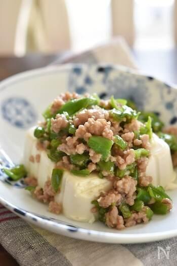 豚ひき肉と合わせて肉味噌に。ご飯にかけたり、お豆腐にかけたりといろいろな楽しみ方ができます。