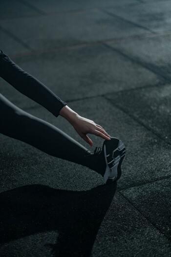 スロージョギングは準備体操不要の運動ですが、たくさん走った後には軽くストレッチをするのがオススメです。