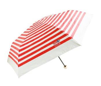 キナリノ読者にもファンが多い リサ・ラーソンの傘。マイキーらしい白×赤のボーダー柄を見るだけで元気が湧いてきますね。晴雨兼用傘なので毎日一緒にマイキーとお出かけできちゃいます。
