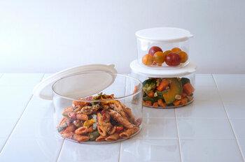 冷蔵庫をスッキリ化!シンプル&使いやすい「保存容器」カタログ