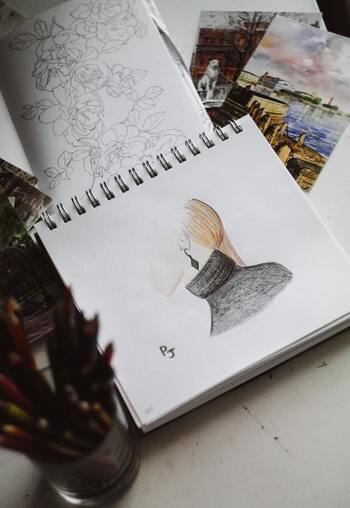 気軽に始められる!優しい風合いの「色鉛筆画」の描き方講座
