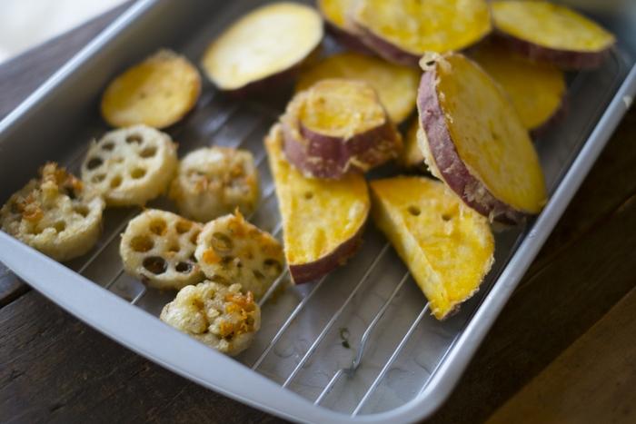 ふっくら、サクッ。メリット生かして美味しい一品!「天ぷら粉」のアレンジレシピ