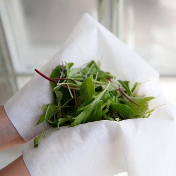 肉や魚、そして野菜を冷蔵室で保存する際、こちらのクッキングペーパーを活用すれば、鮮度を保った状態で保存することが可能です。さらに速乾性と剥離性も優れており、洗って何度も使えるのでコスパもバッチリ。