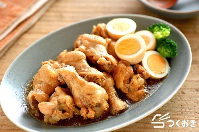 お酢で煮るから身離れが良く食べやすい。まろやかな酸味の甘辛味で、ご飯によく合います。シンプルに煮るだけで作れる、お手軽レシピ。